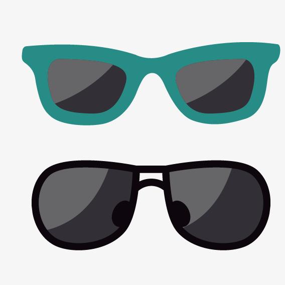 568x568 Green Black Cartoon Sunglasses, Green Black, Cartoon, Sun Png