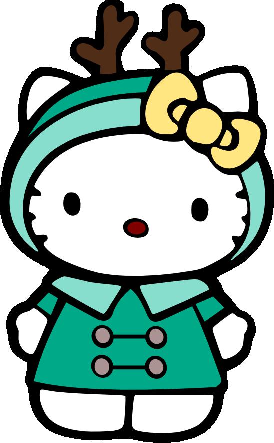 549x886 Christmas Hello Kitty Clip Art Clip Art