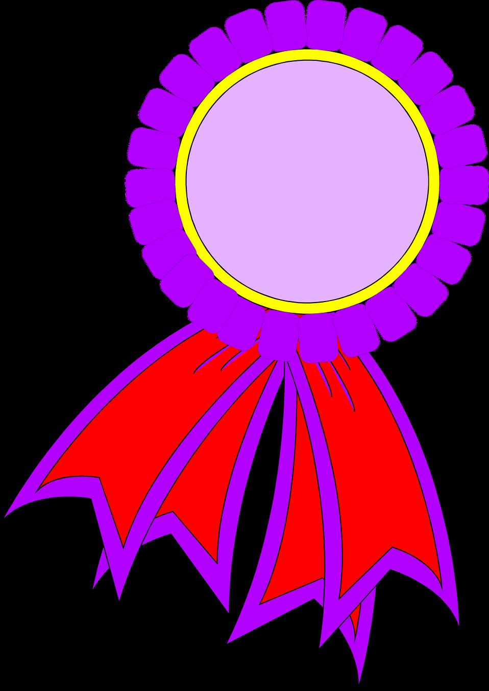 958x1352 Certificate Ribbon Clipart