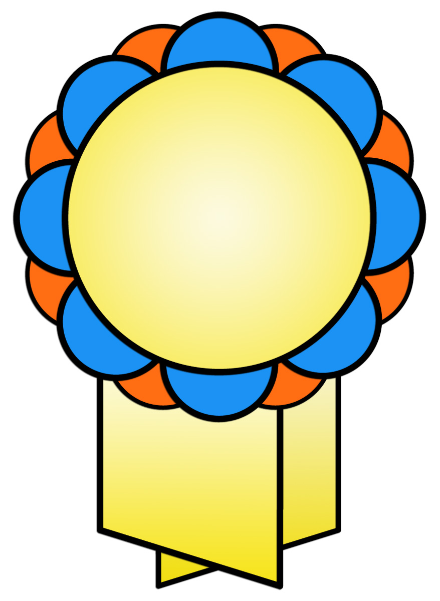 878x1200 Ribbon Designs For Awards Clipart