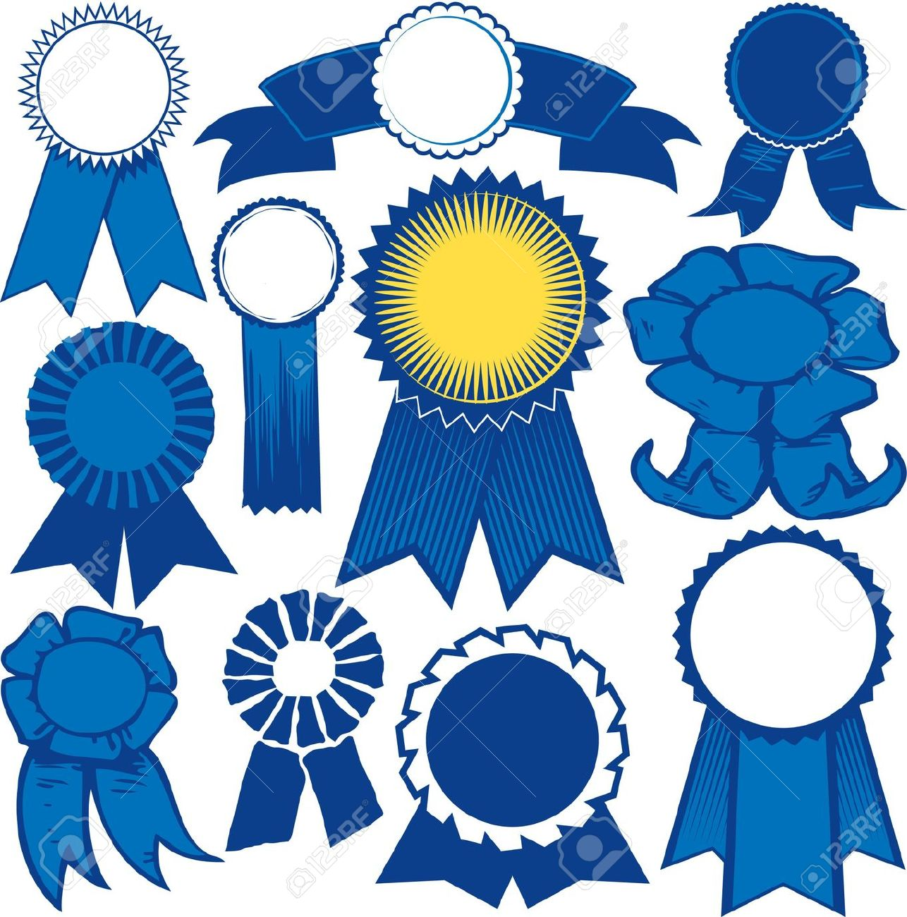 Ribbon Awards Template Award Free Best On