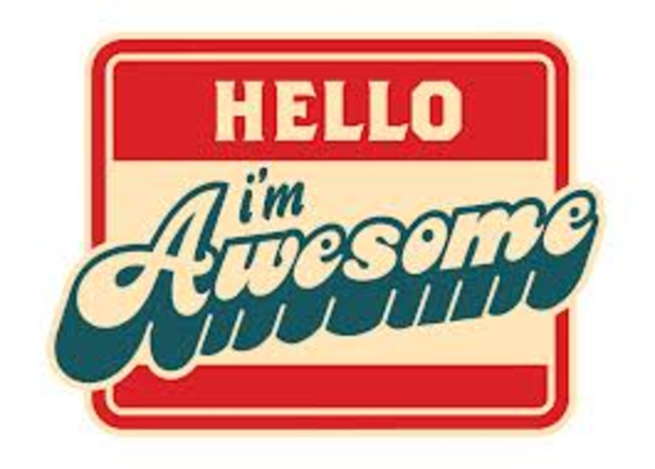 600x430 Hello Im Awesome Free Images