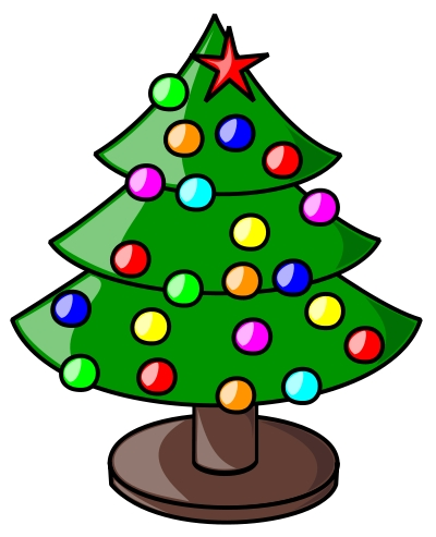 400x493 Clip Art Pictures Of Christmas Decorations Clip Art Library
