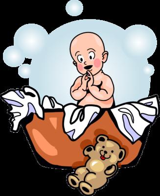 327x400 Image Laundry Basket Baby Baby Clip Art