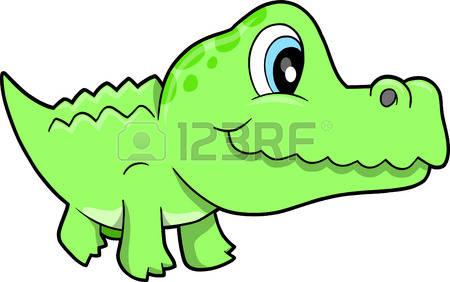 450x282 Crocodile Clipart Cute