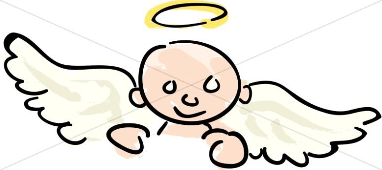 776x346 Angel Clipart Child Angel