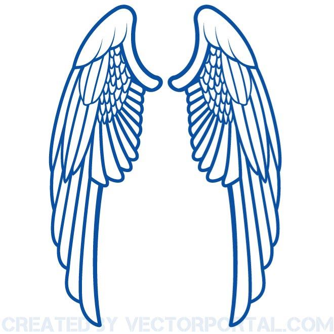 660x660 Angel Wing Clipart