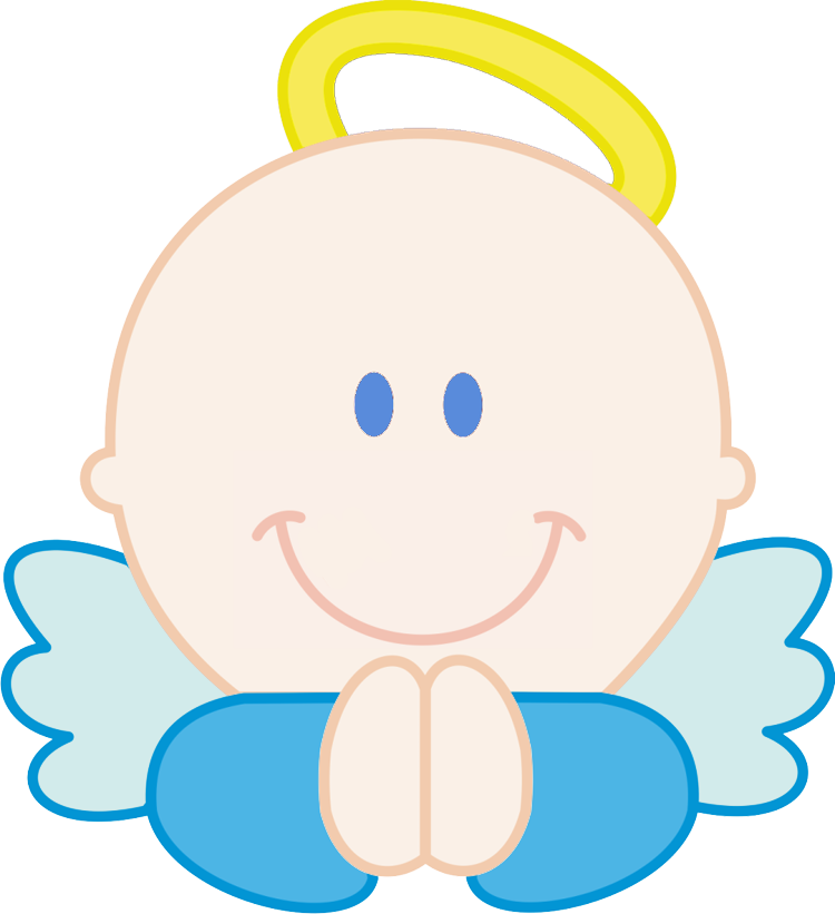 750x821 Baby Angels Clipart
