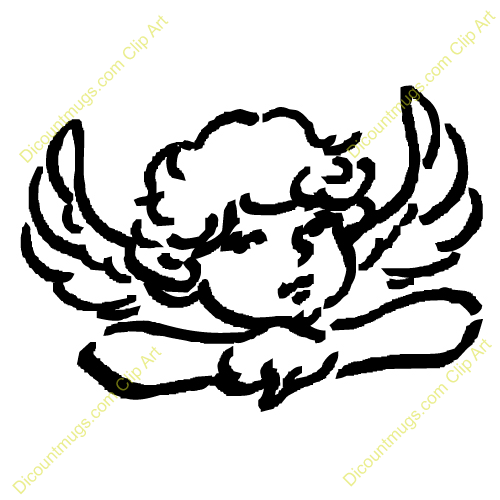 500x500 Wings Clipart Baby Angel Wing