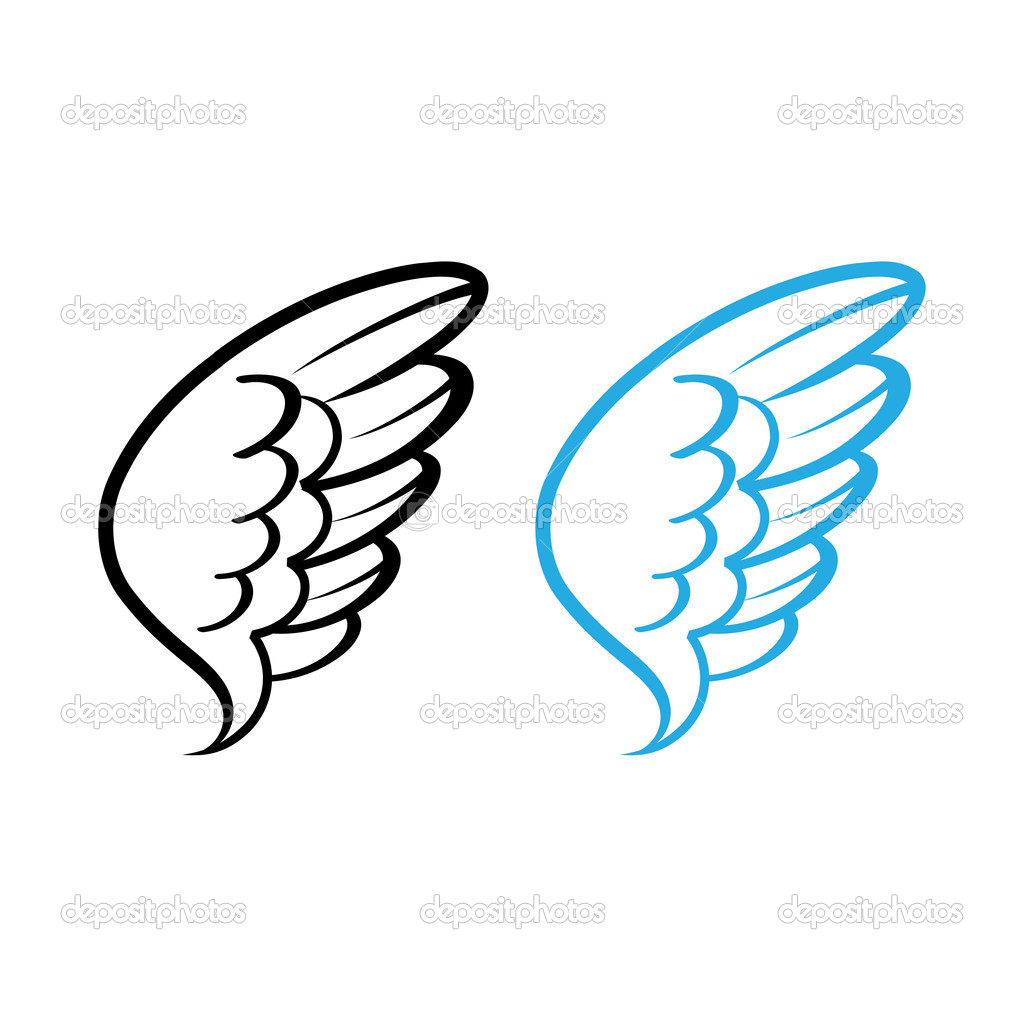1024x1024 Angel Wings Clipart