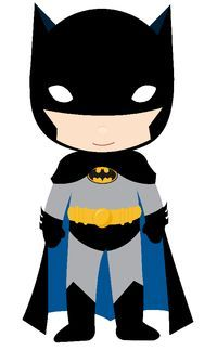 Baby Batman Clipart