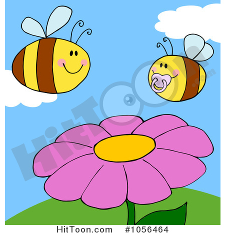 450x470 Bee Clipart