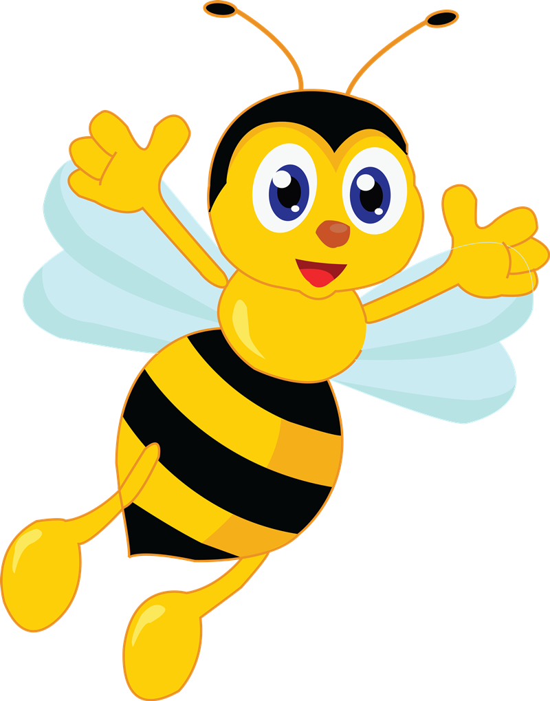 800x1019 Bee Clipart