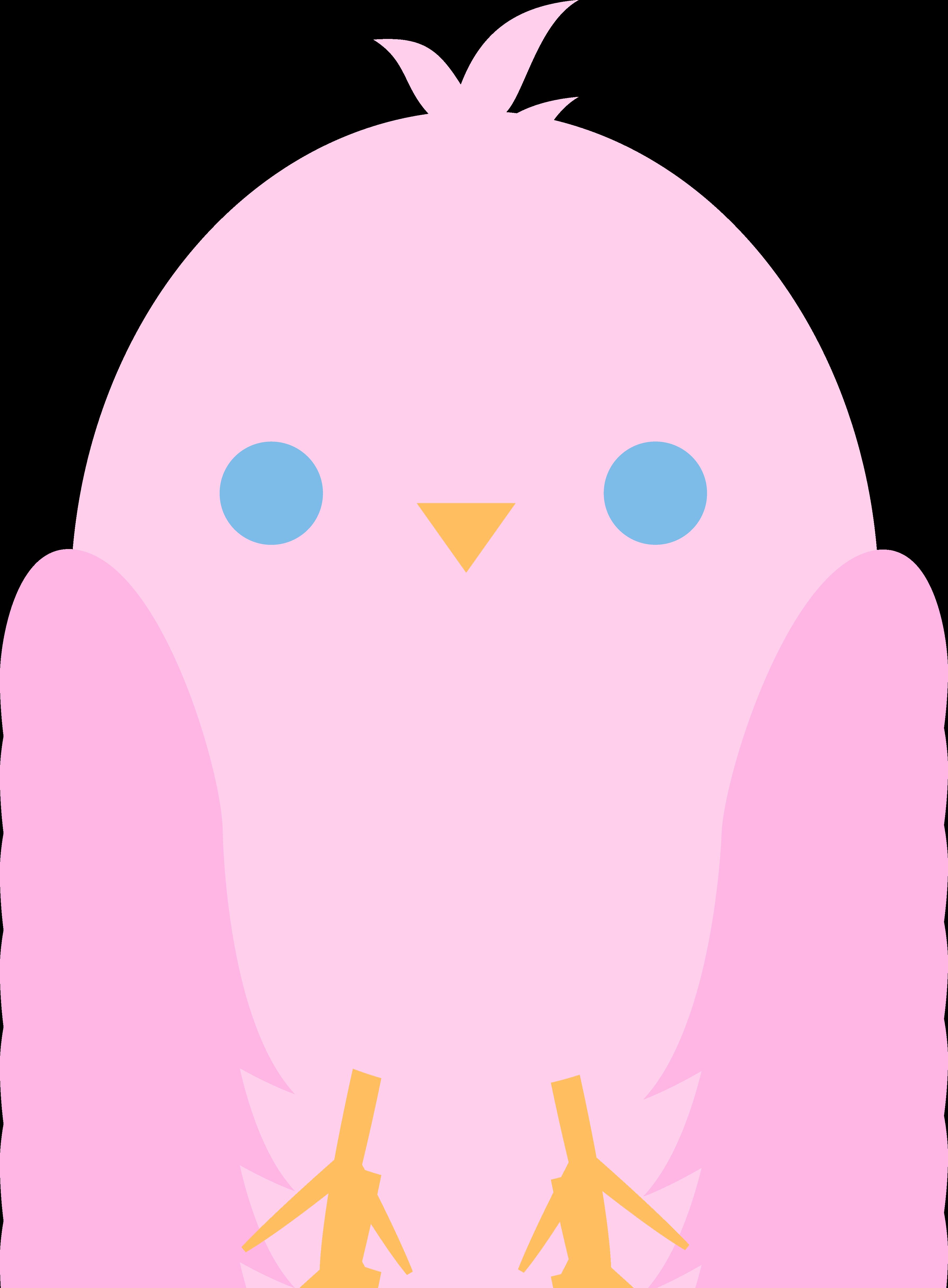 3578x4863 Bird Clipart Baby Pink