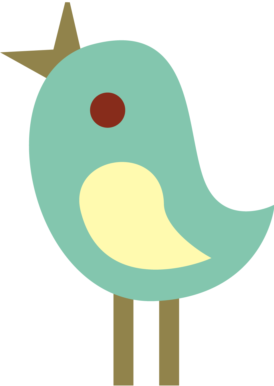 958x1350 Brown Clipart Baby Bird