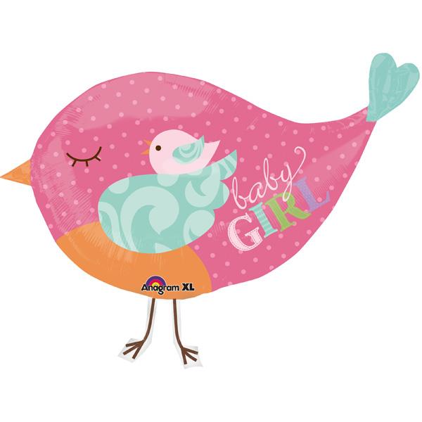 600x600 Pink Clipart Baby Bird