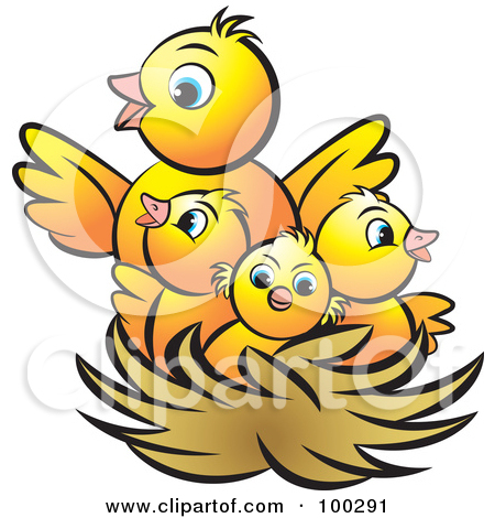 450x470 The Bird Chick Clipart