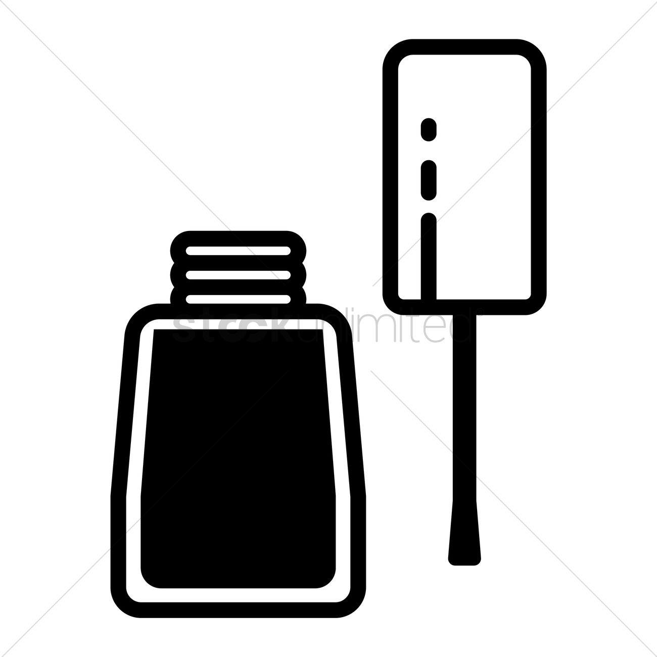 1300x1300 Nail Clipart Outline