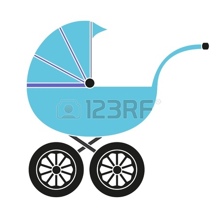 450x450 Baby Carriage Royalty Free Cliparts, Vectors, And Stock