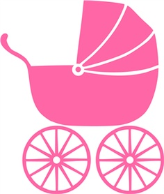 236x278 Carriage Clipart Pink Stroller