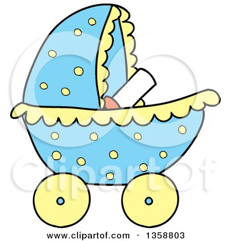 450x470 Royalty Free (Rf) Baby Carriage Clipart, Illustrations, Vector