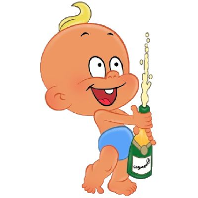 400x400 Baby Boy Party Funny Baby Clip Art Cartoons Clip