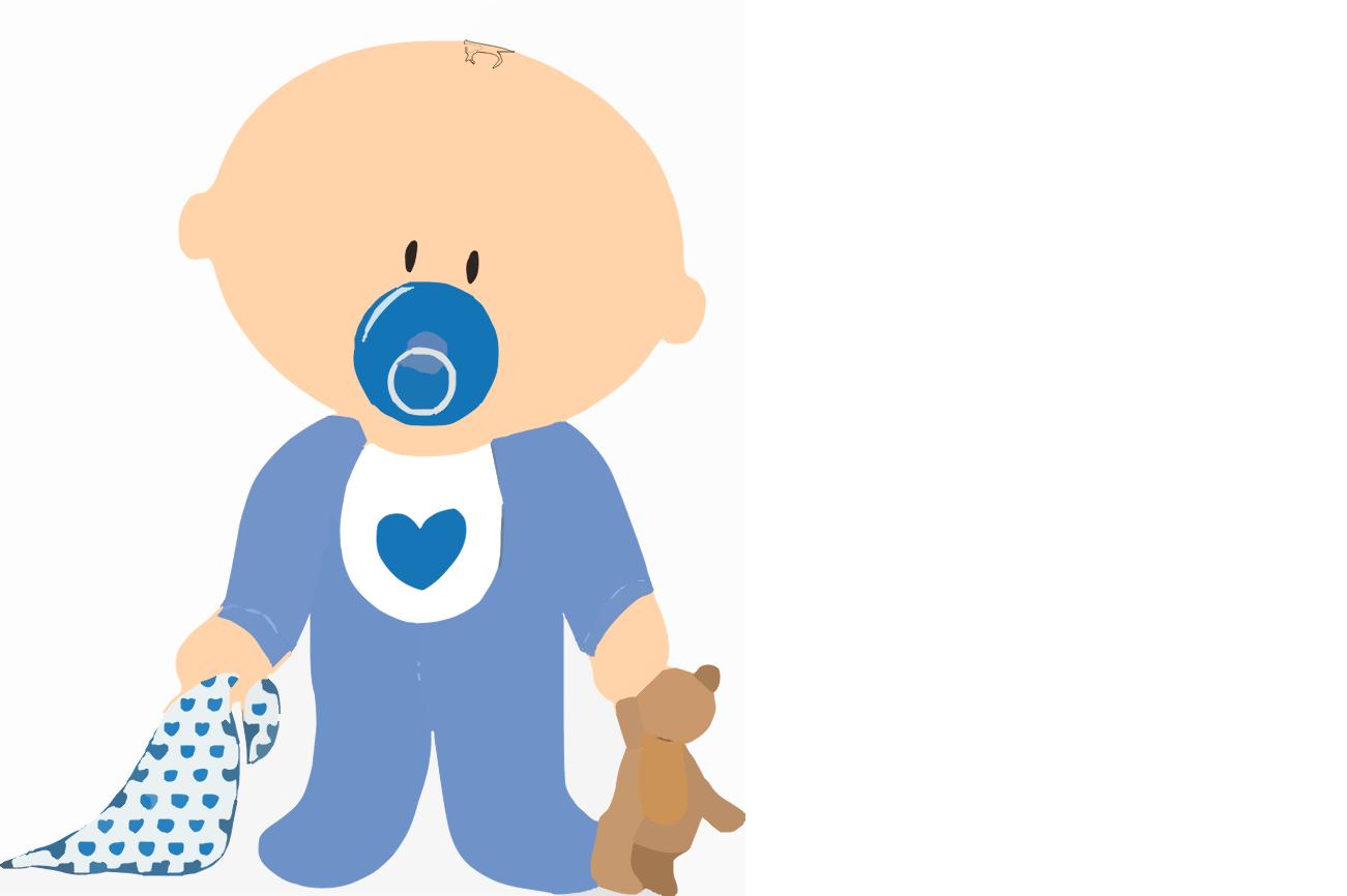 1301x866 Baby Boy Cartoon
