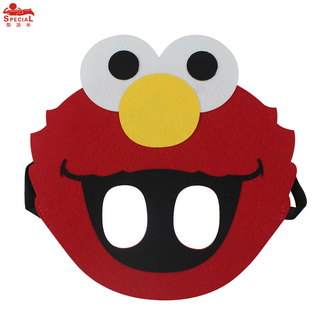 640x640 Special Baby Boy Costume Elmo Mask Cartoon Cos Play Face Mask