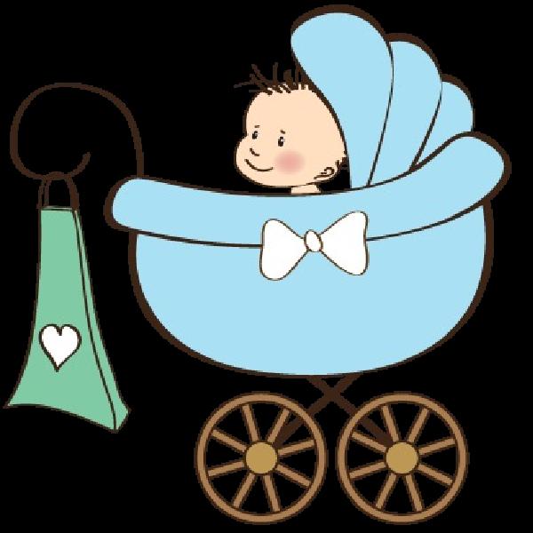 600x600 Baby Boy Carriage