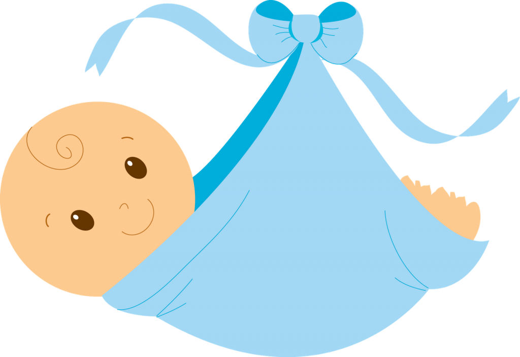 1024x703 Baby Boy Free Baby Clipart Clipartcow Clipartix