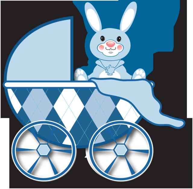640x625 Bunny Clipart Baby Boy Toy