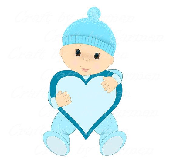 570x550 Image Of Baby Boy Clipart
