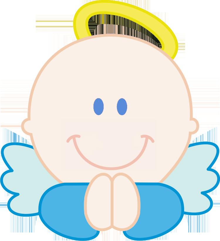750x821 Angel Clipart Baby Boy