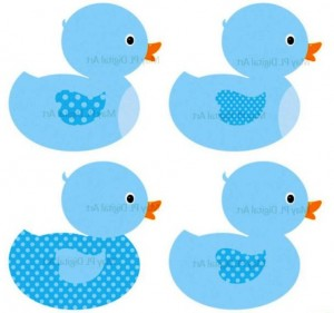 300x281 Free Baby Shower Clipart Image