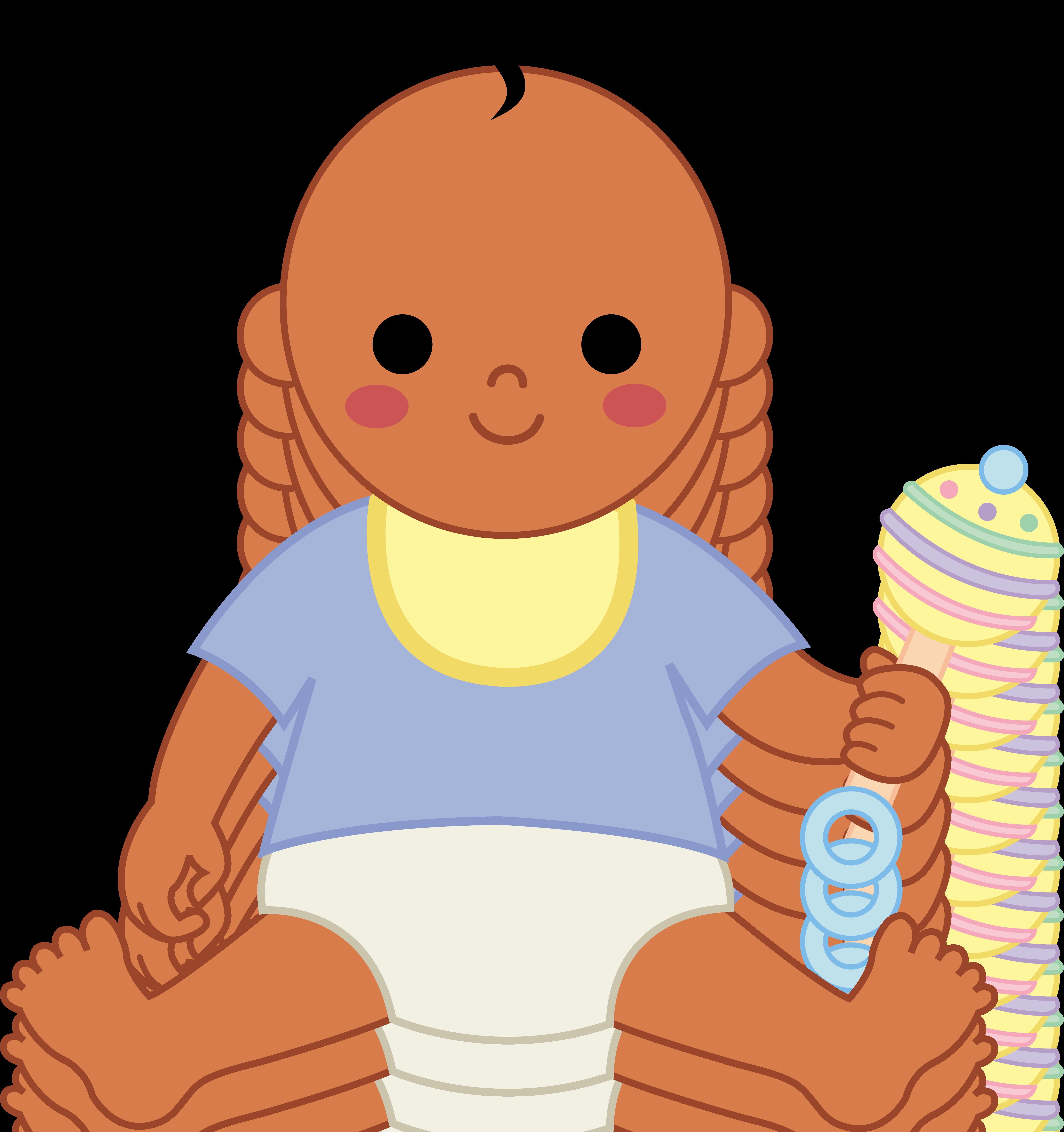 5175x5502 Brown Clipart Baby Boy