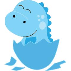 240x240 Baby Dino Clipart