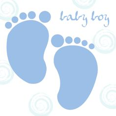 236x236 Baby Footprint Clip Art