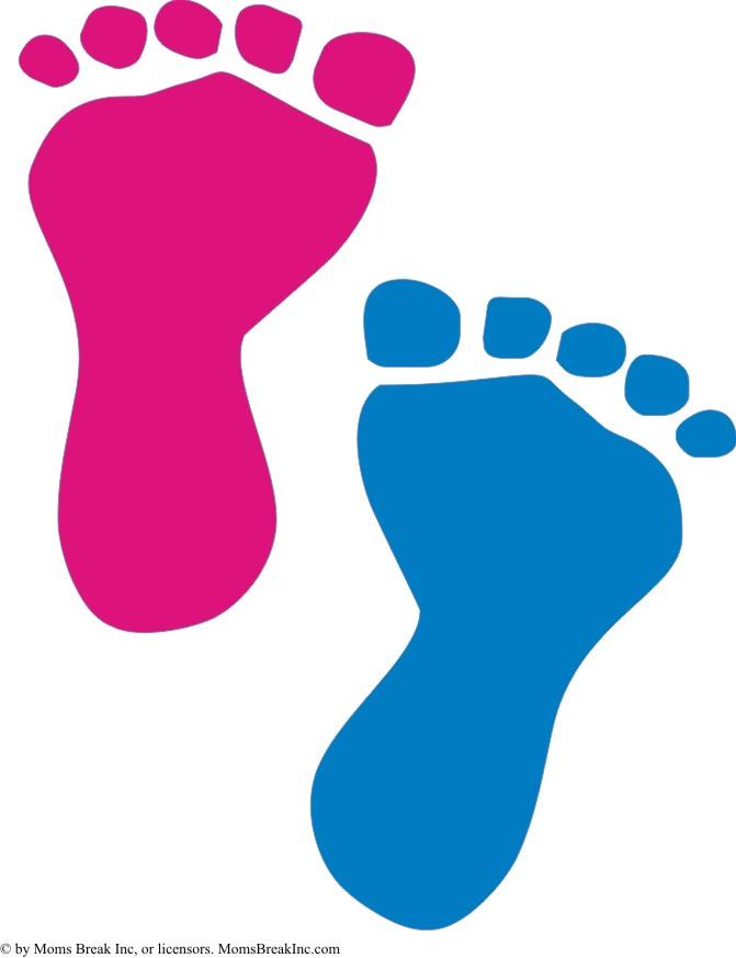 671x873 Baby Feet Clip Art 6