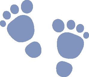 297x257 Clipart Walking Feet
