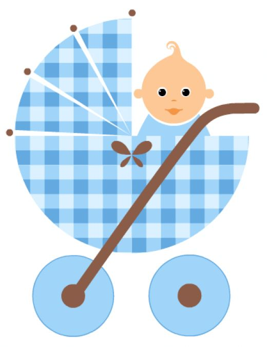 520x675 Footprint Clipart Baby Carriage