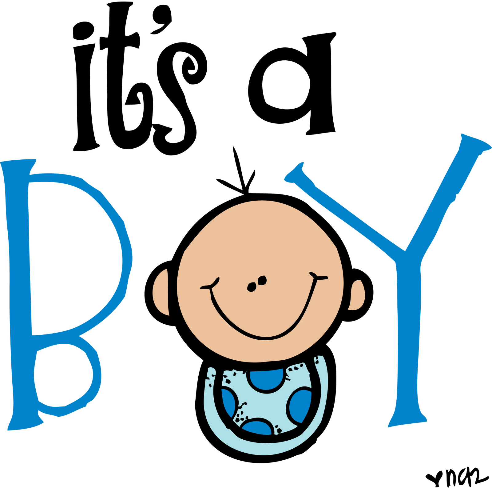 Baby Boy Footprints Clipart | Free download on ClipArtMag
