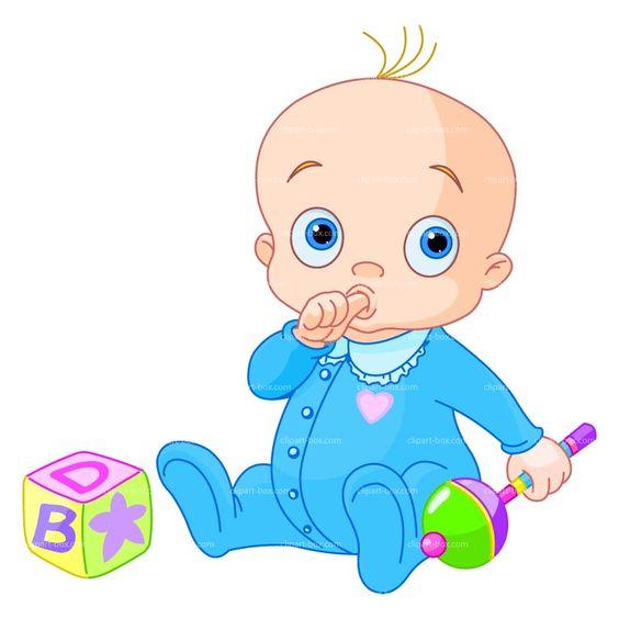 564x564 Baby Boy Clip Art Baby Clipart 2 Clipartcow Clipartix 6