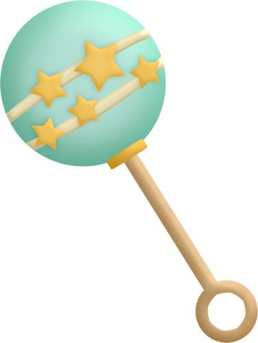 377x500 Toy Clipart Rattle