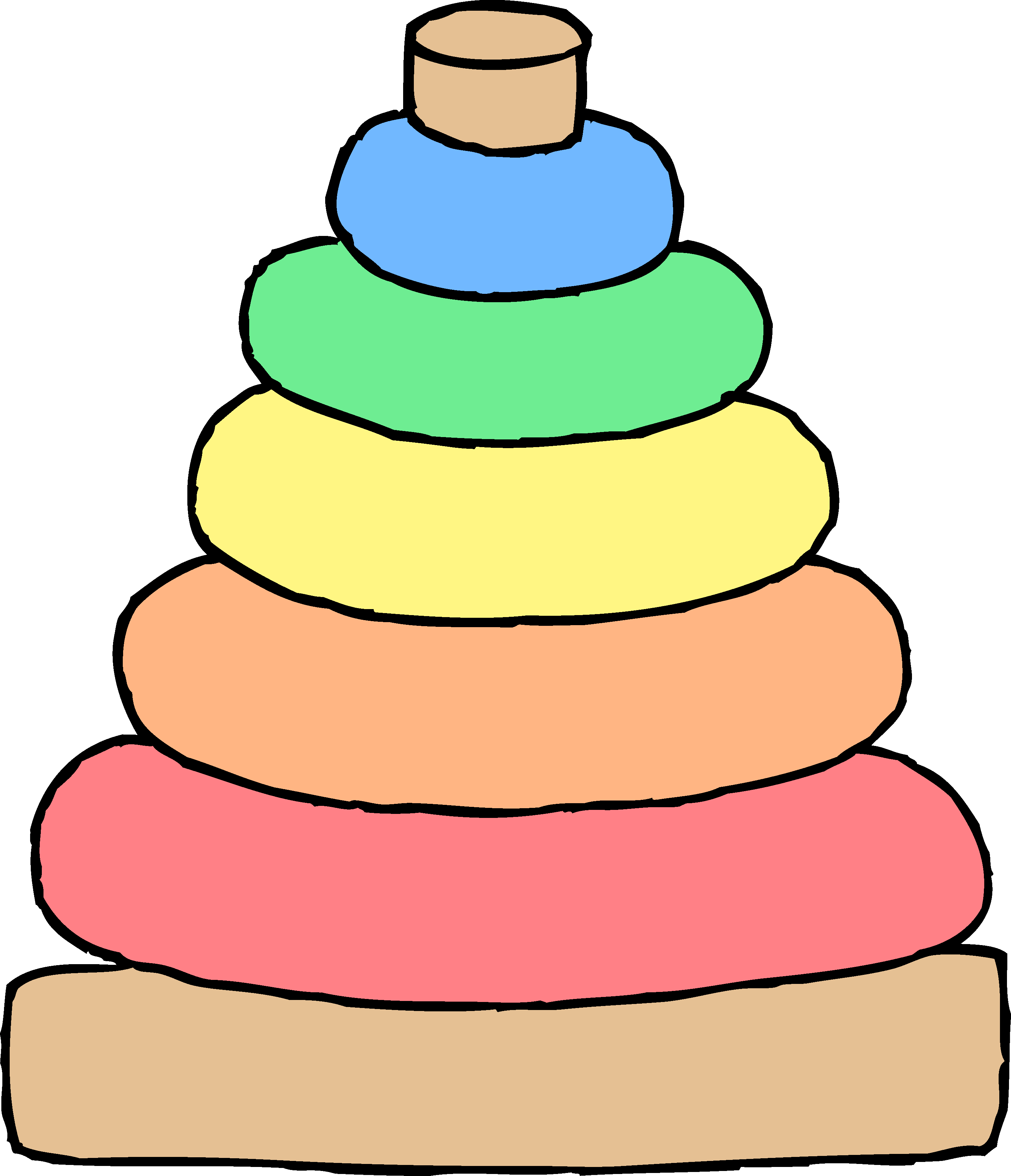 3022x3514 Baby Toys Clipart