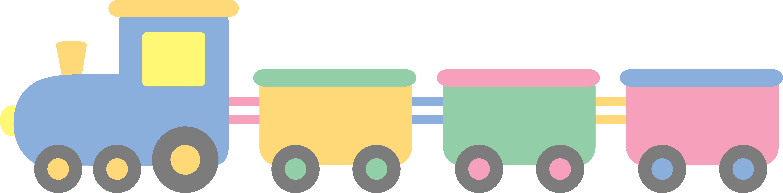 9723x2395 Toys Train Clip Art