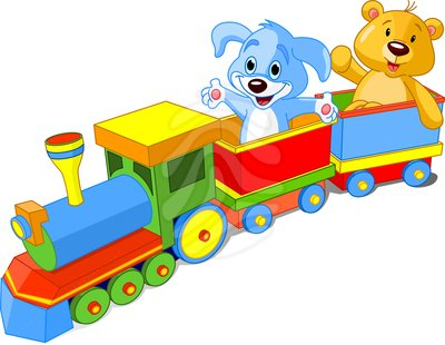 400x310 Train Clipart Baby Toy