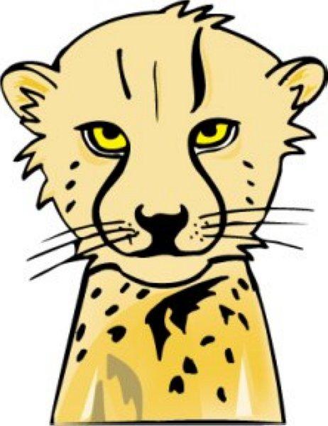 462x600 Cheetah Clip Art 6 Free Clipart Images