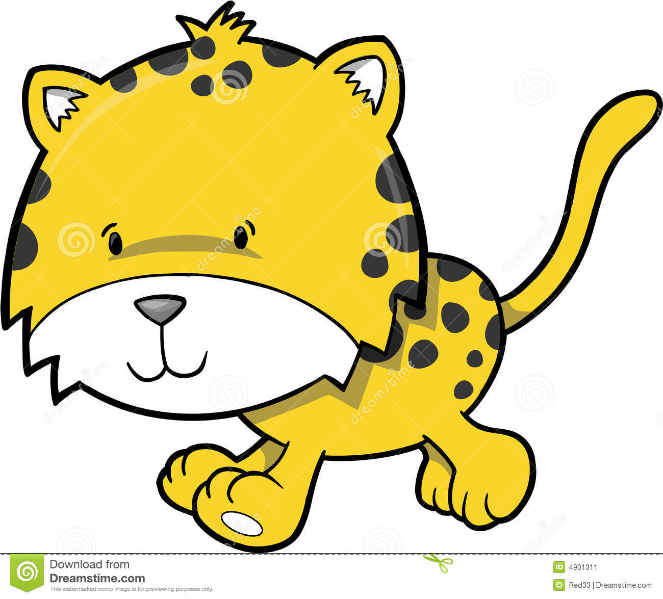 1300x1175 Cheetah Clipart Vector