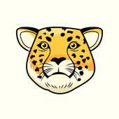 170x170 Clip Art Cheetah