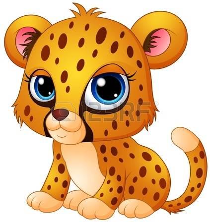 423x450 Cub Clipart Cheetah
